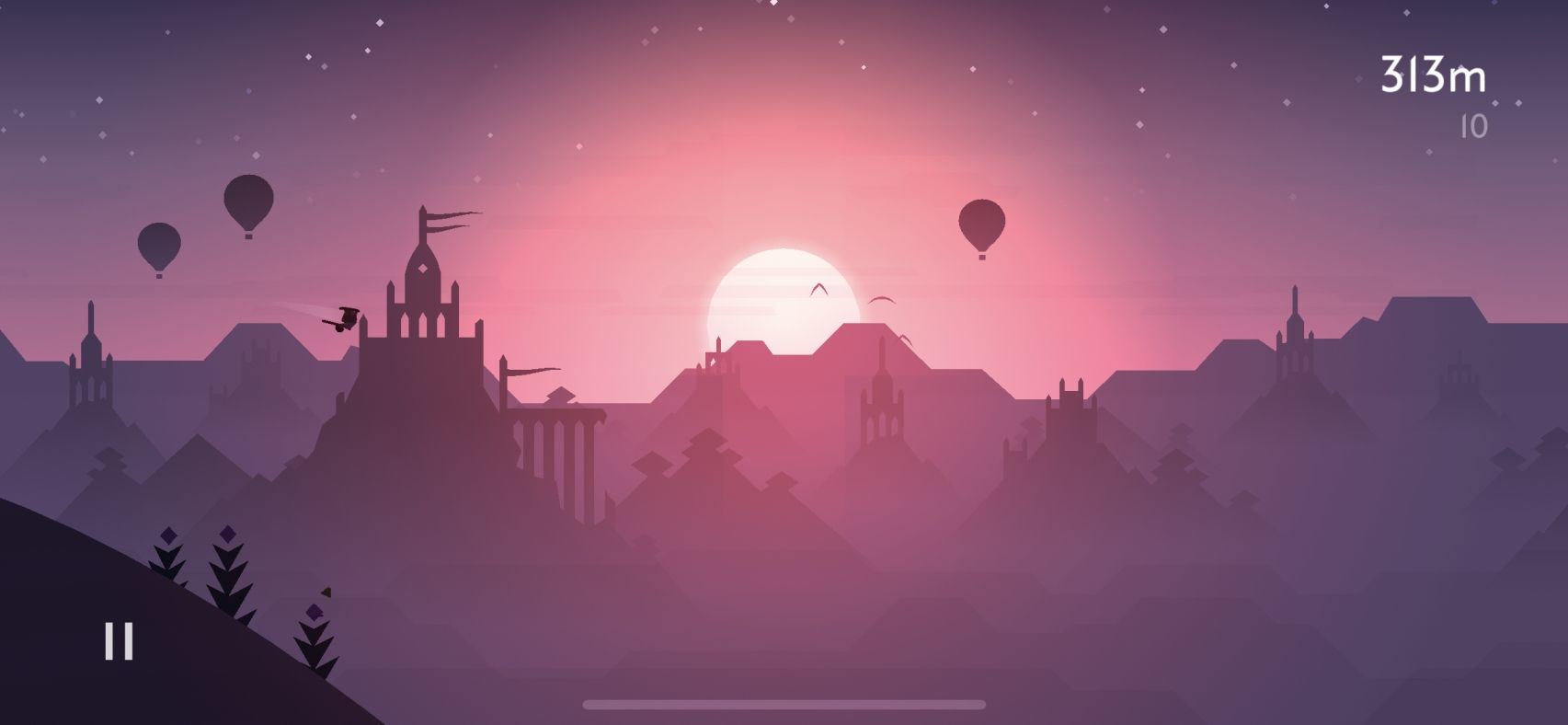 Alto's Odyssey (copie d'écran 18 sur iPhone / iPad / Apple TV)