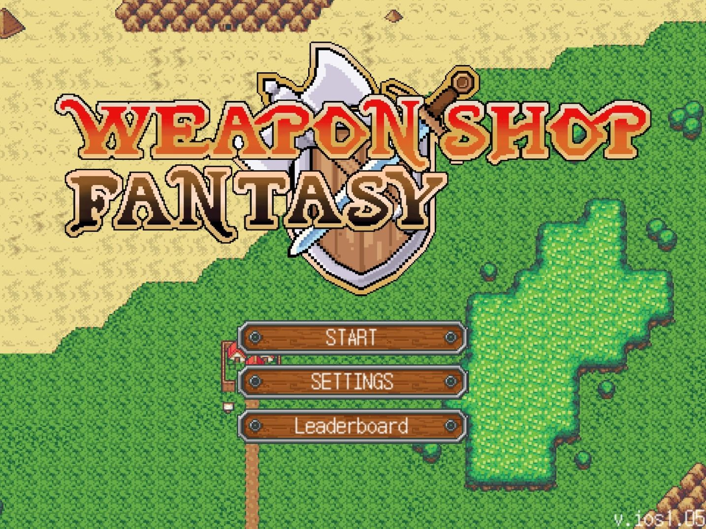 Weapon Shop Fantasy (copie d'écran 1 sur iPhone / iPad)