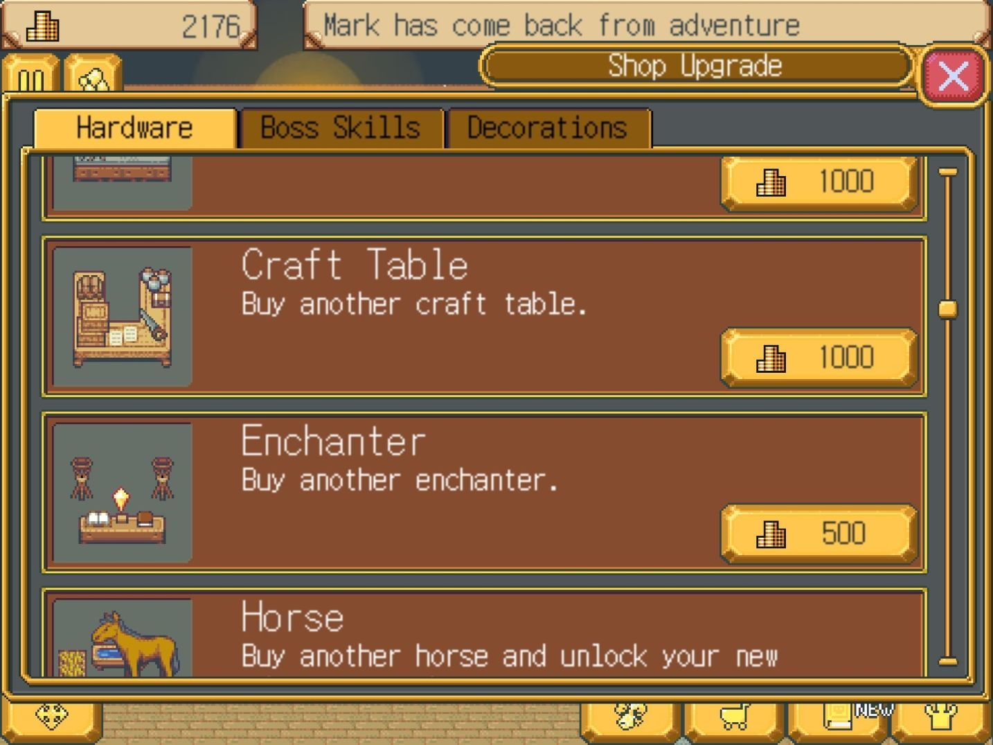 Weapon Shop Fantasy (copie d'écran 4 sur iPhone / iPad)