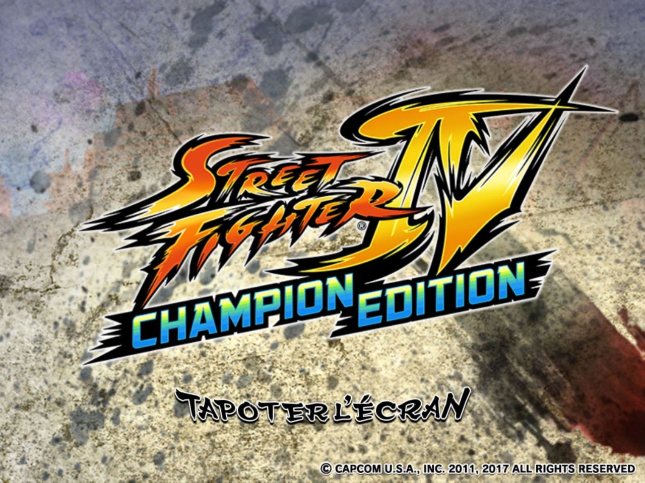 Street Fighter IV Champion Edition (copie d'écran 2 sur Android)