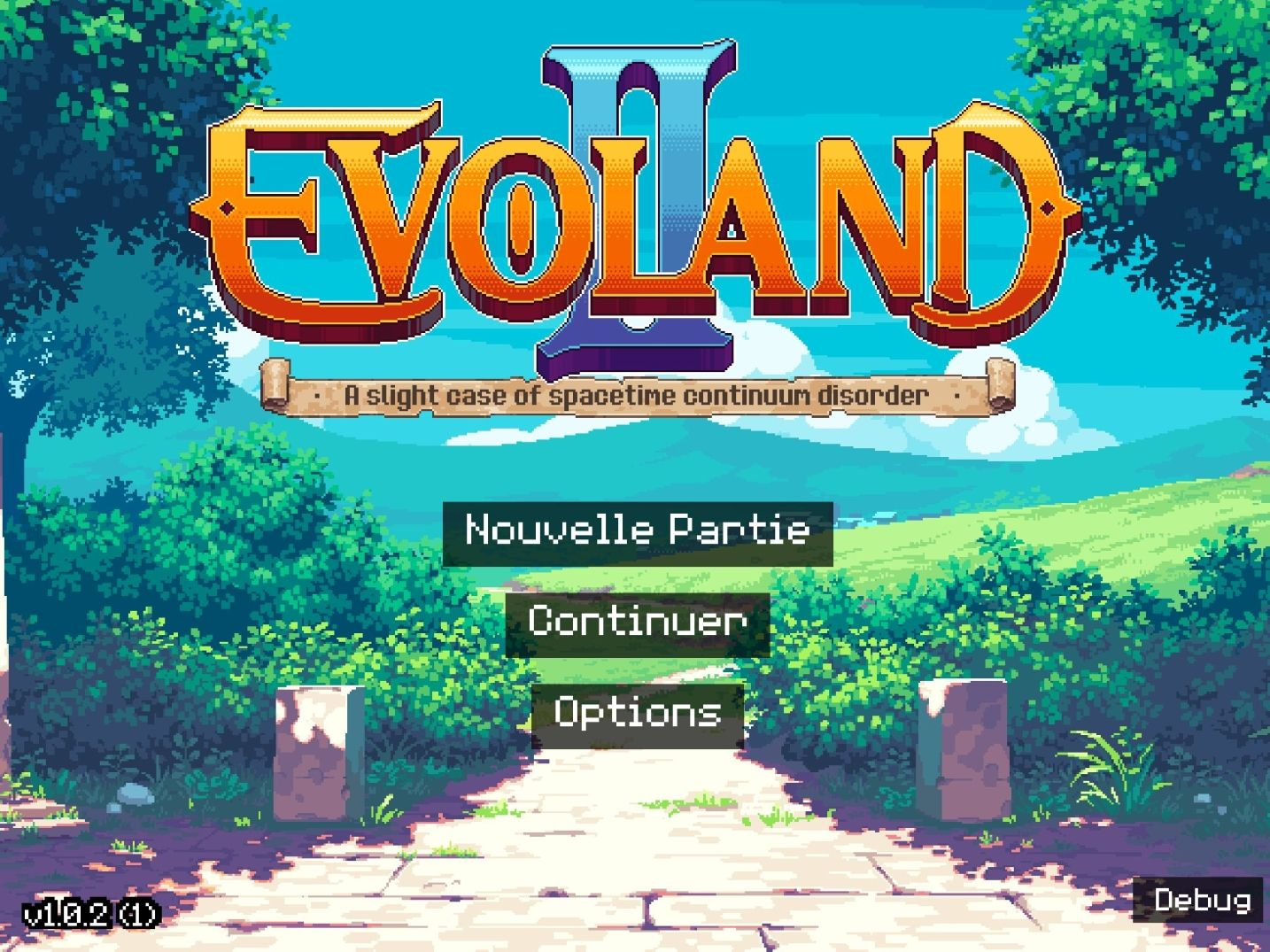 Evoland 2 (copie d'écran 1 sur iPhone / iPad)