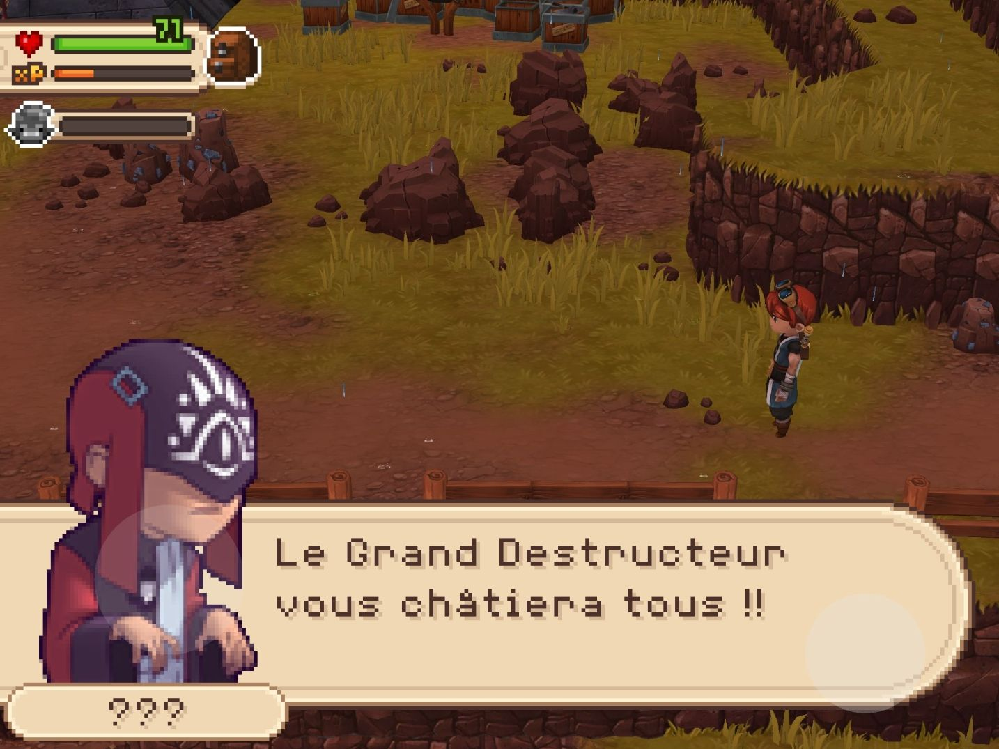Evoland 2 (copie d'écran 11 sur iPhone / iPad)