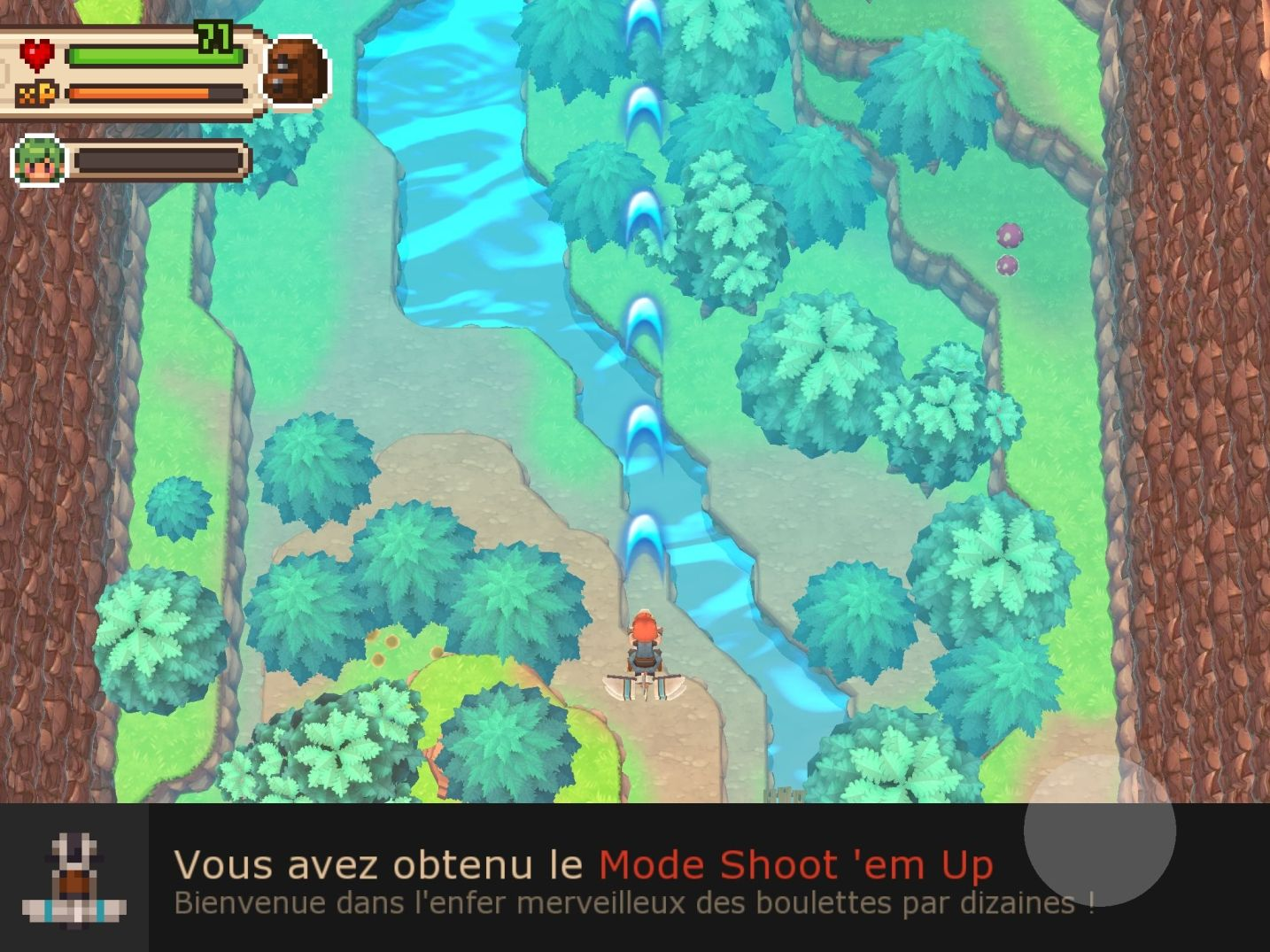 Evoland 2 (copie d'écran 16 sur iPhone / iPad)