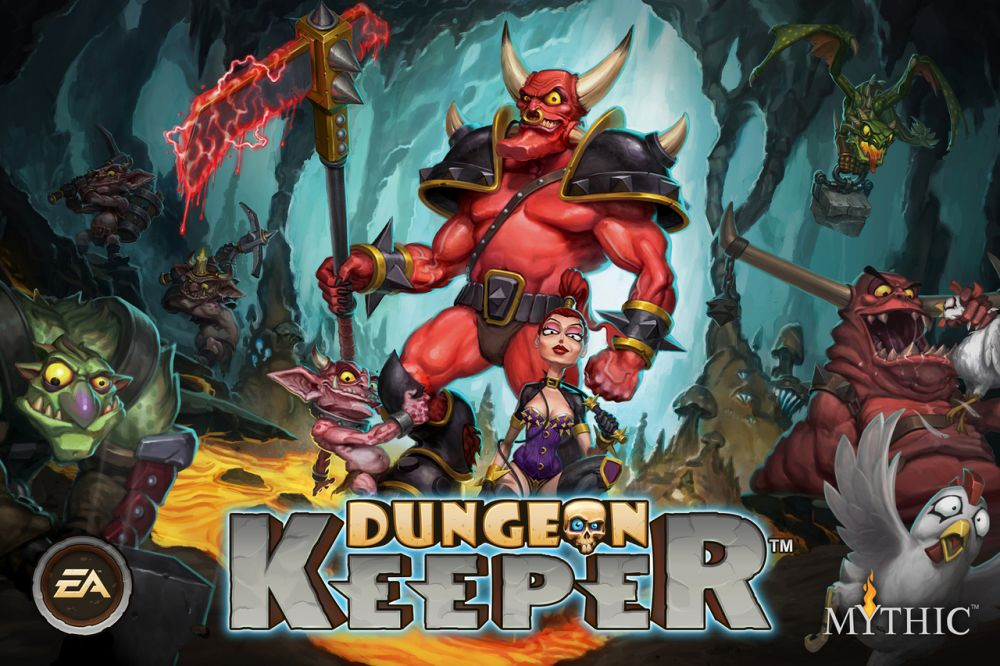 Dungeon Keeper sur iPhone / iPad et Android