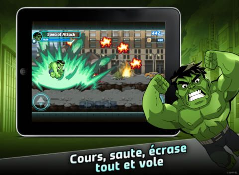 Marvel Run Jump Smash! sur iPhone, iPad et Android