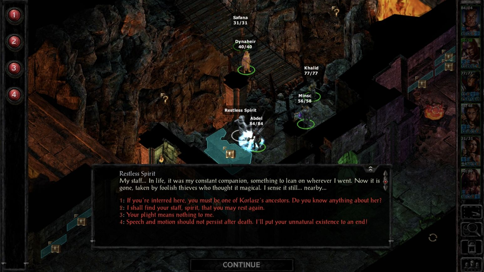 Siege of Dragonspear (copie d'écran 16 sur iPhone / iPad)