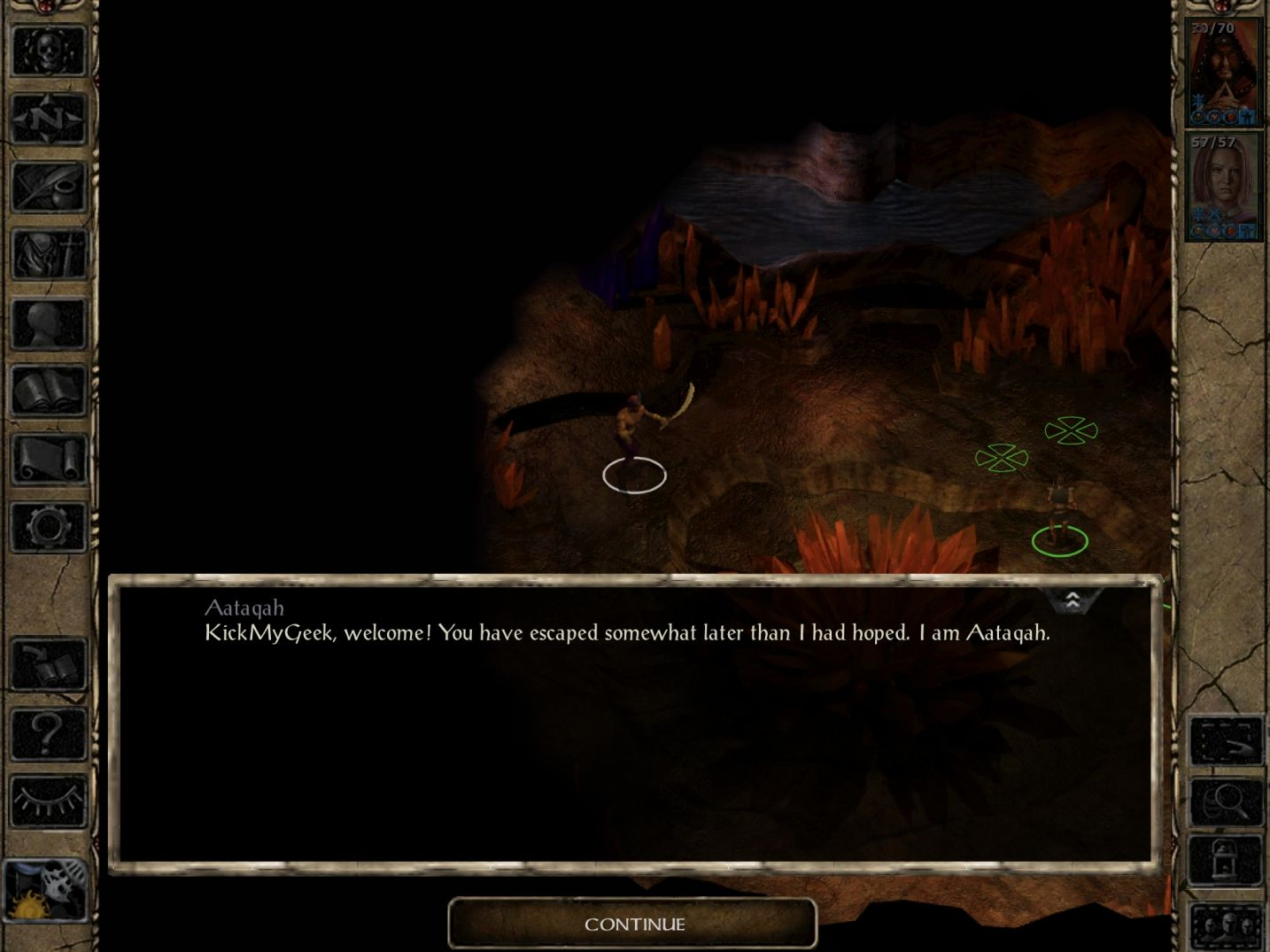 Baldur's Gate II: EE (copie d'écran 6 sur iPhone / iPad)