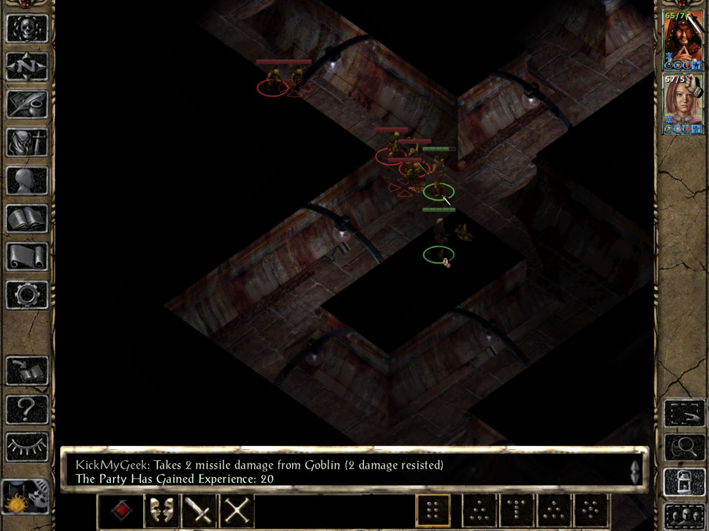 Baldur's Gate II: EE (copie d'écran 9 sur iPhone / iPad)