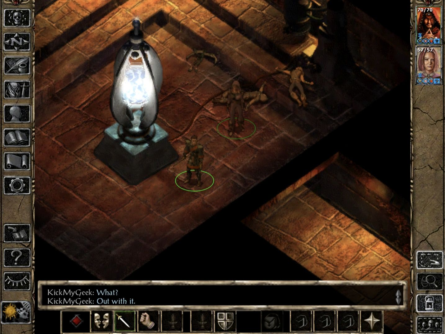 Baldur's Gate II: EE (copie d'écran 12 sur iPhone / iPad)