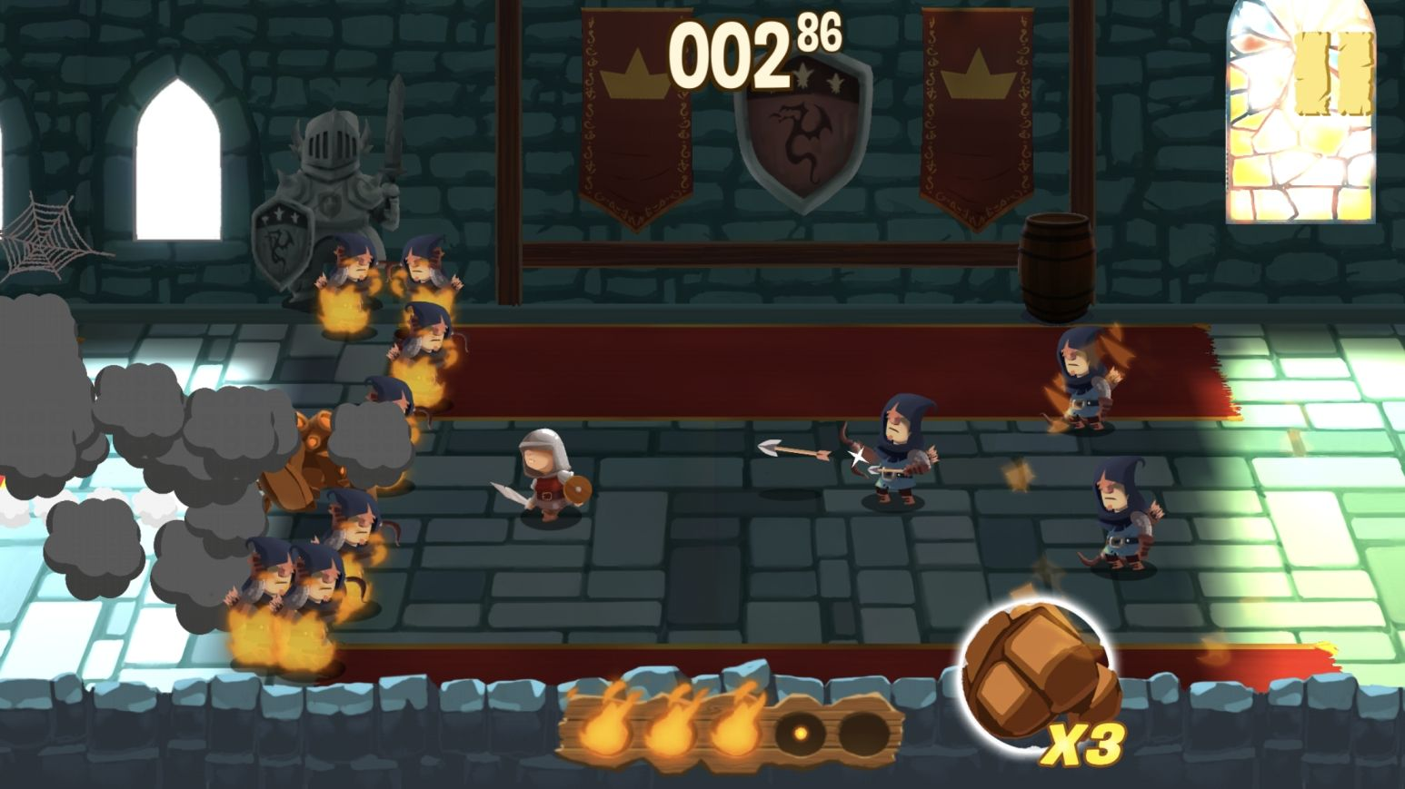 Golem Rage (copie d'écran 6 sur iPhone / iPad)