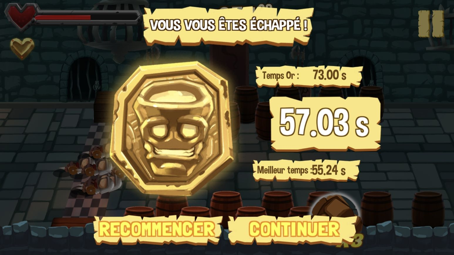 Golem Rage (copie d'écran 12 sur iPhone / iPad)