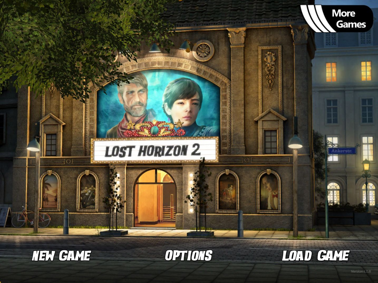 Lost Horizon 2 (copie d'écran 1 sur iPhone / iPad)