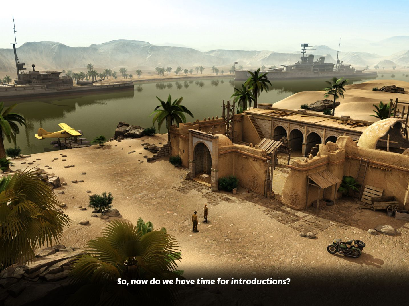 Lost Horizon 2 (copie d'écran 11 sur iPhone / iPad)