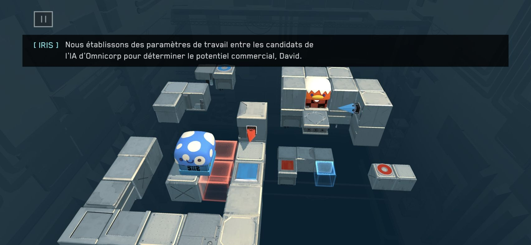 Death Squared (copie d'écran 14 sur Android)