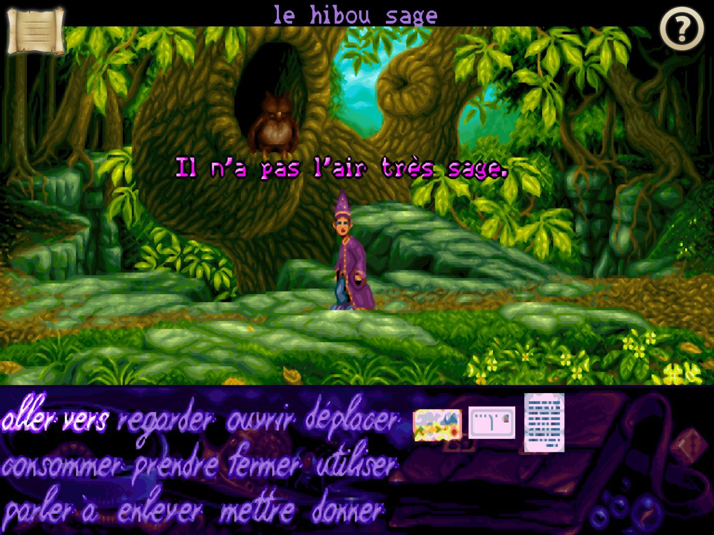 Simon the Sorcerer (copie d'écran 11 sur Android)