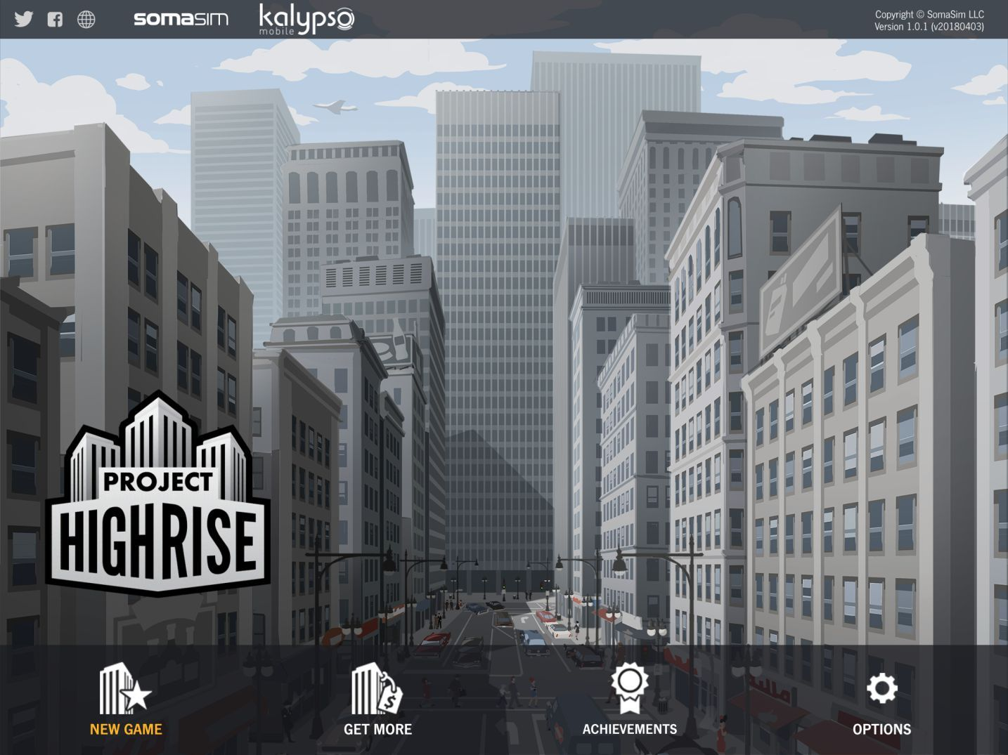 Project Highrise (copie d'écran 1 sur Android)