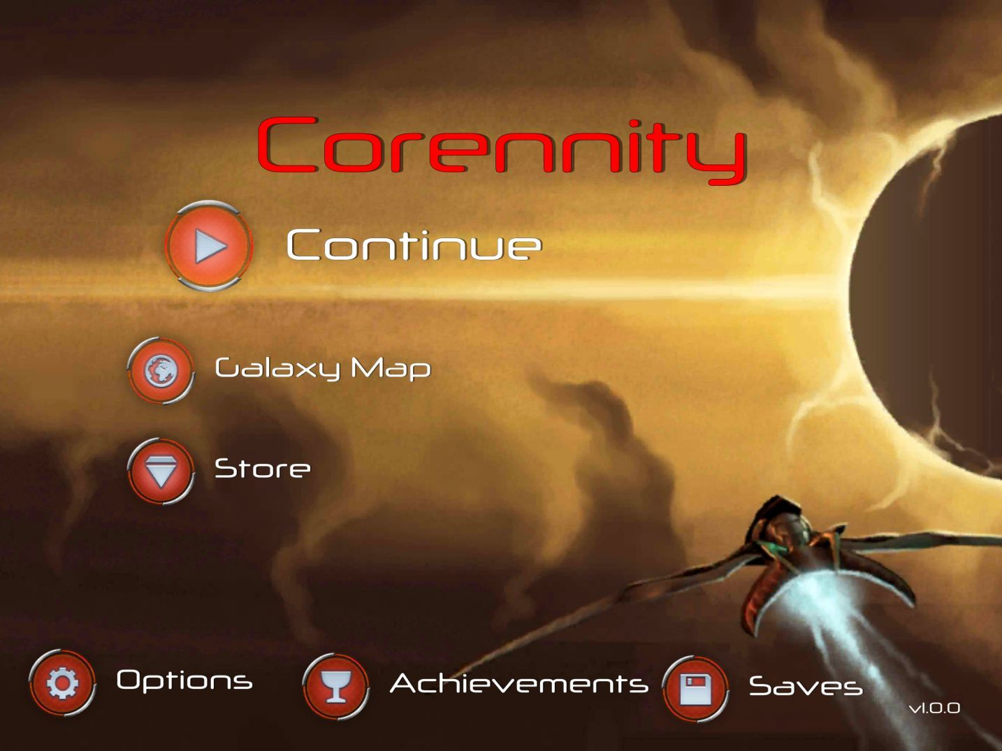 Corennity (copie d'écran 1 sur iPhone / iPad)