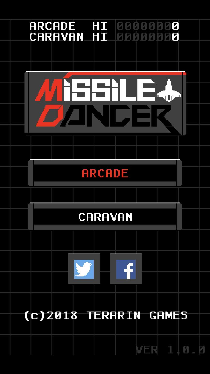 MissileDancer (copie d'écran 1 sur Android)