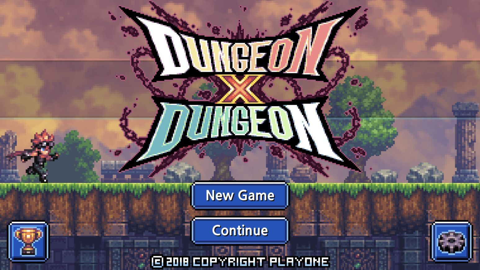 Dungeon X Dungeon (copie d'écran 1 sur iPhone / iPad)