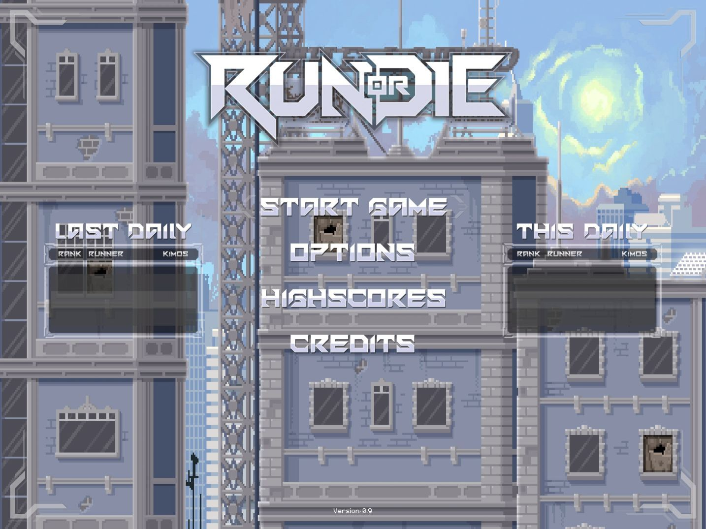 Run or Die (copie d'écran 1 sur iPhone / iPad)