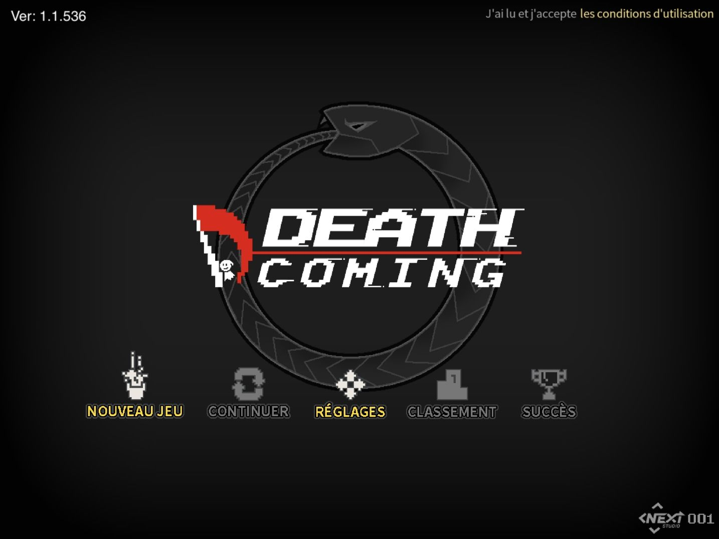 Death Coming (copie d'écran 1 sur Android)