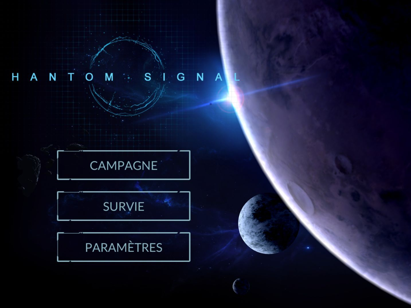 Phantom Signal (copie d'écran 1 sur Android)