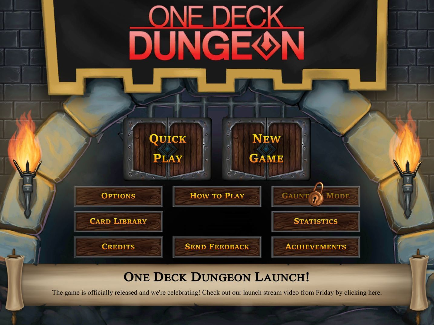 One Deck Dungeon (copie d'écran 1 sur iPad)