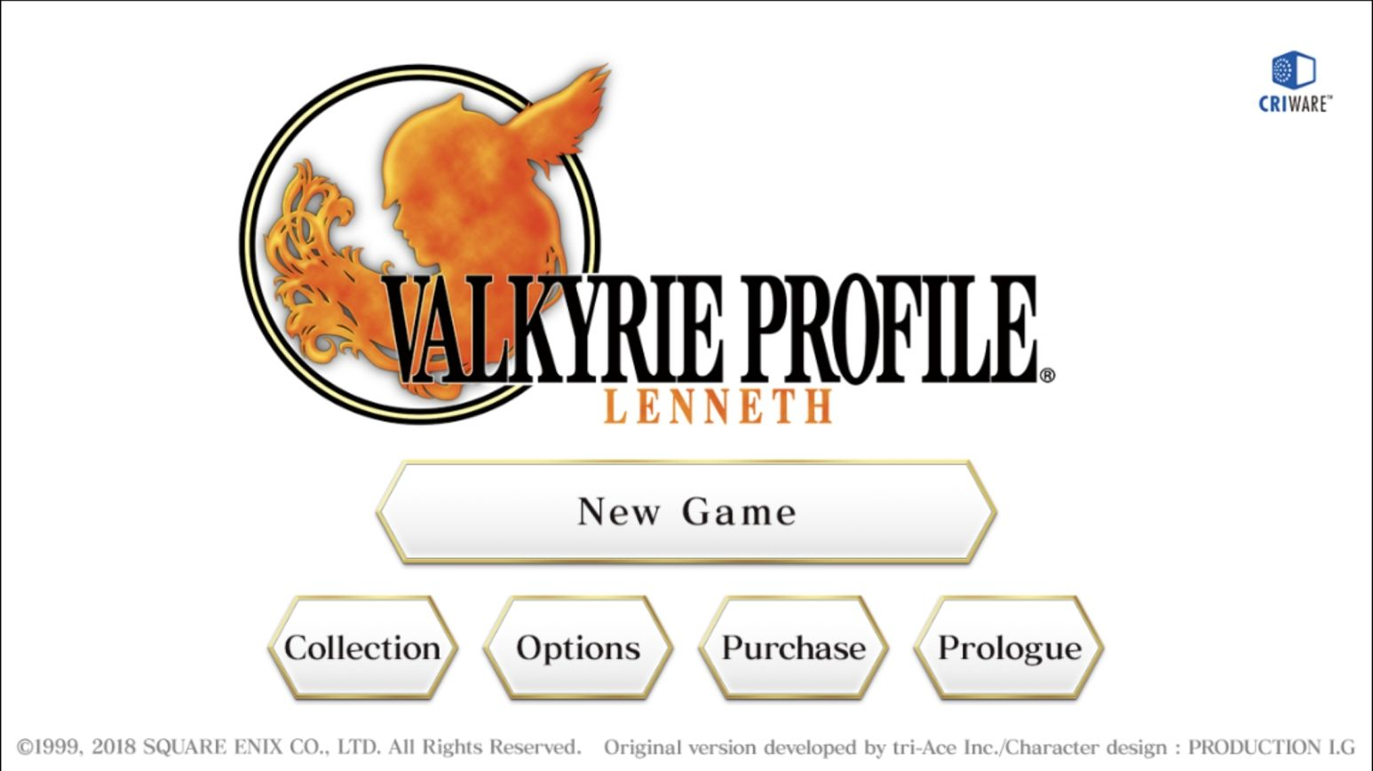 VALKYRIE PROFILE: LENNETH (copie d'écran 1 sur Android)