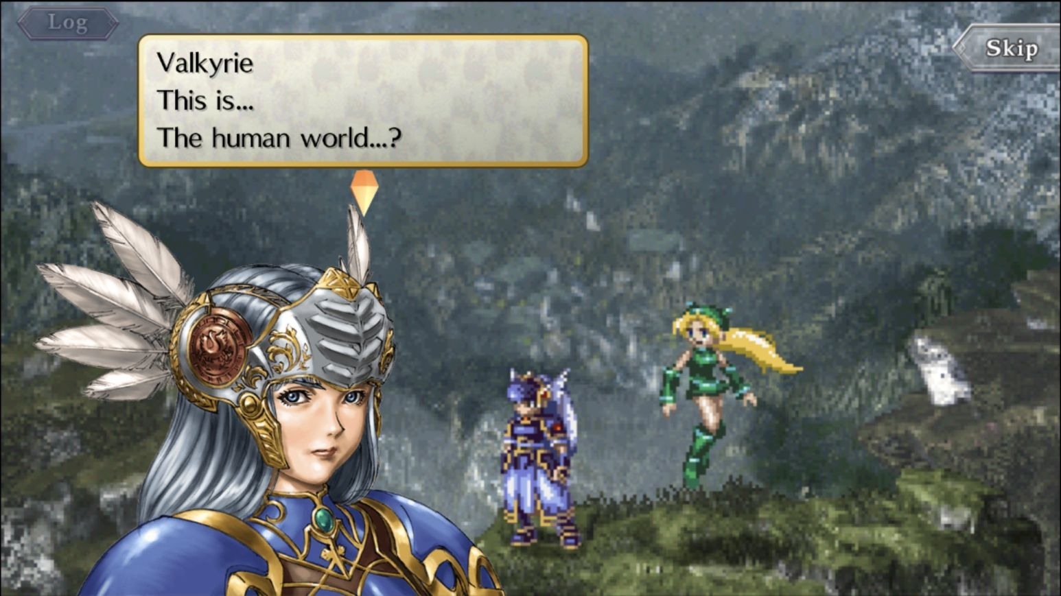 VALKYRIE PROFILE: LENNETH (copie d'écran 6 sur Android)