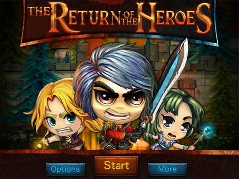 The Return of the Heroes sur iPhone et iPad