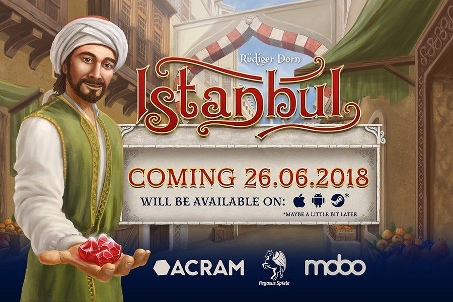 Istanbul Digital Board Game par Acram Digital
