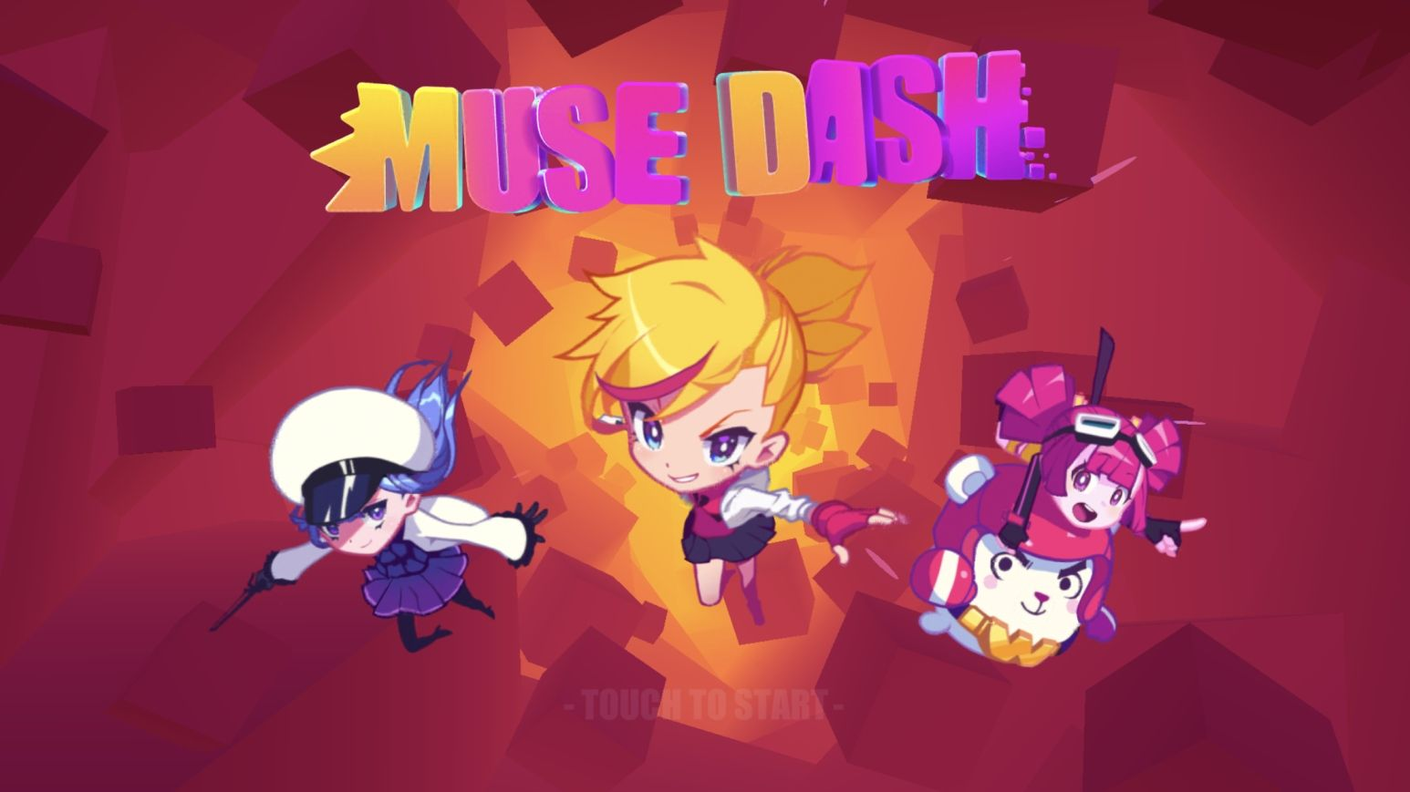 Muse Dash (copie d'écran 1 sur iPhone / iPad)