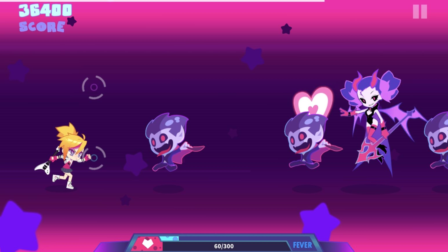 Muse Dash (copie d'écran 6 sur iPhone / iPad)