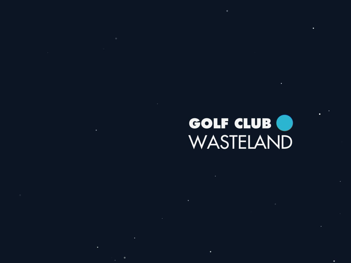 Golf Club: Wasteland (copie d'écran 1 sur iPhone / iPad)
