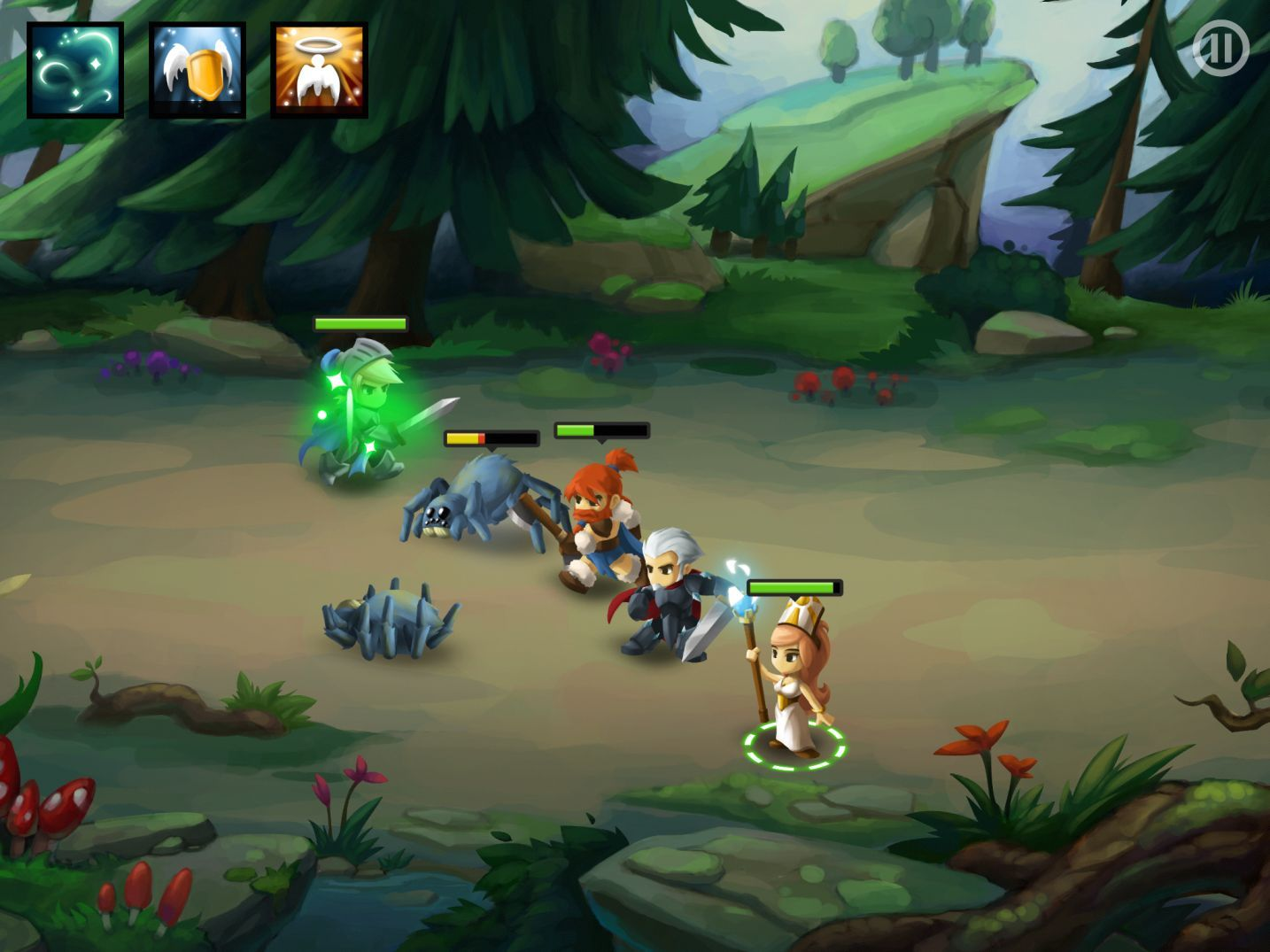 Battleheart 2 (copie d'écran 12 sur iPhone / iPad)