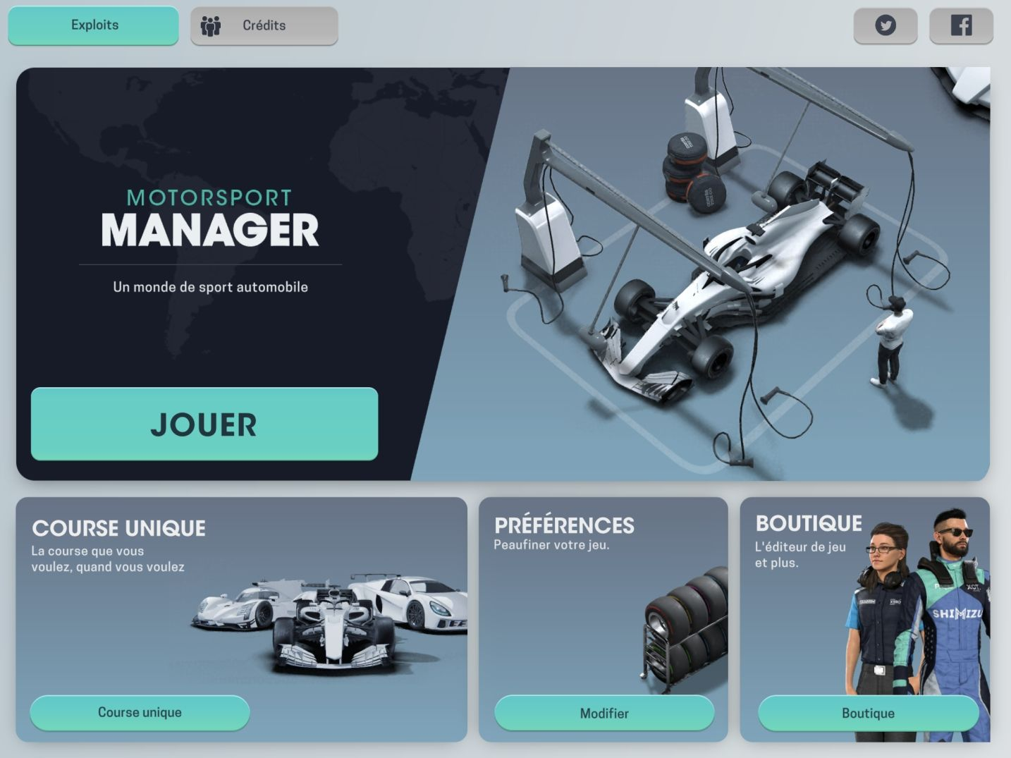Motorsport Manager Mobile 3 (copie d'écran 1 sur iPhone / iPad)