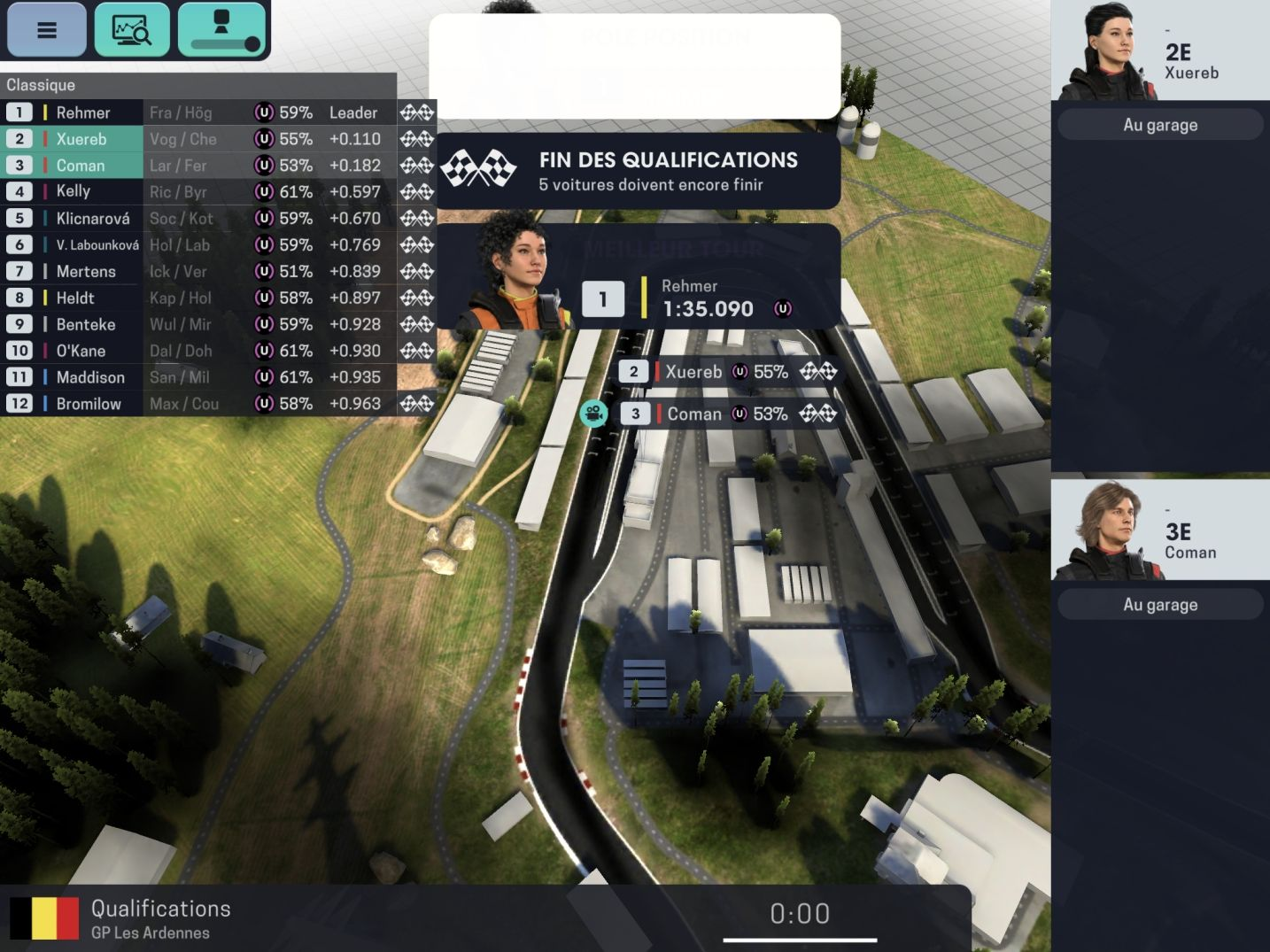 Motorsport Manager Mobile 3 (copie d'écran 27 sur Android)