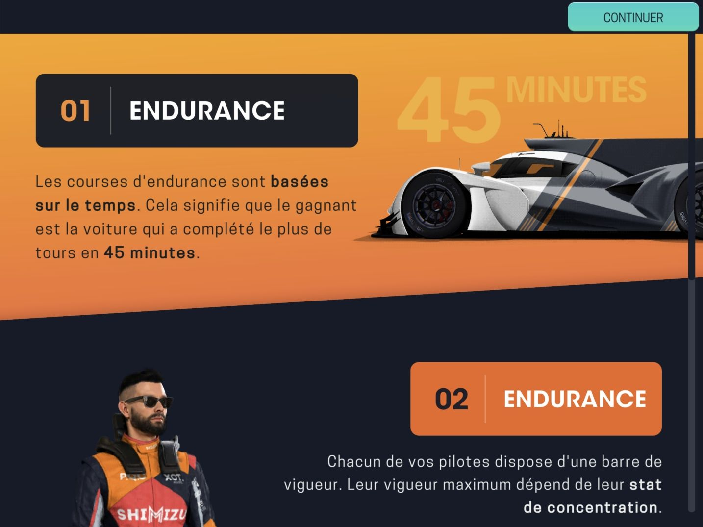 Motorsport Manager Mobile 3 (copie d'écran 29 sur Android)