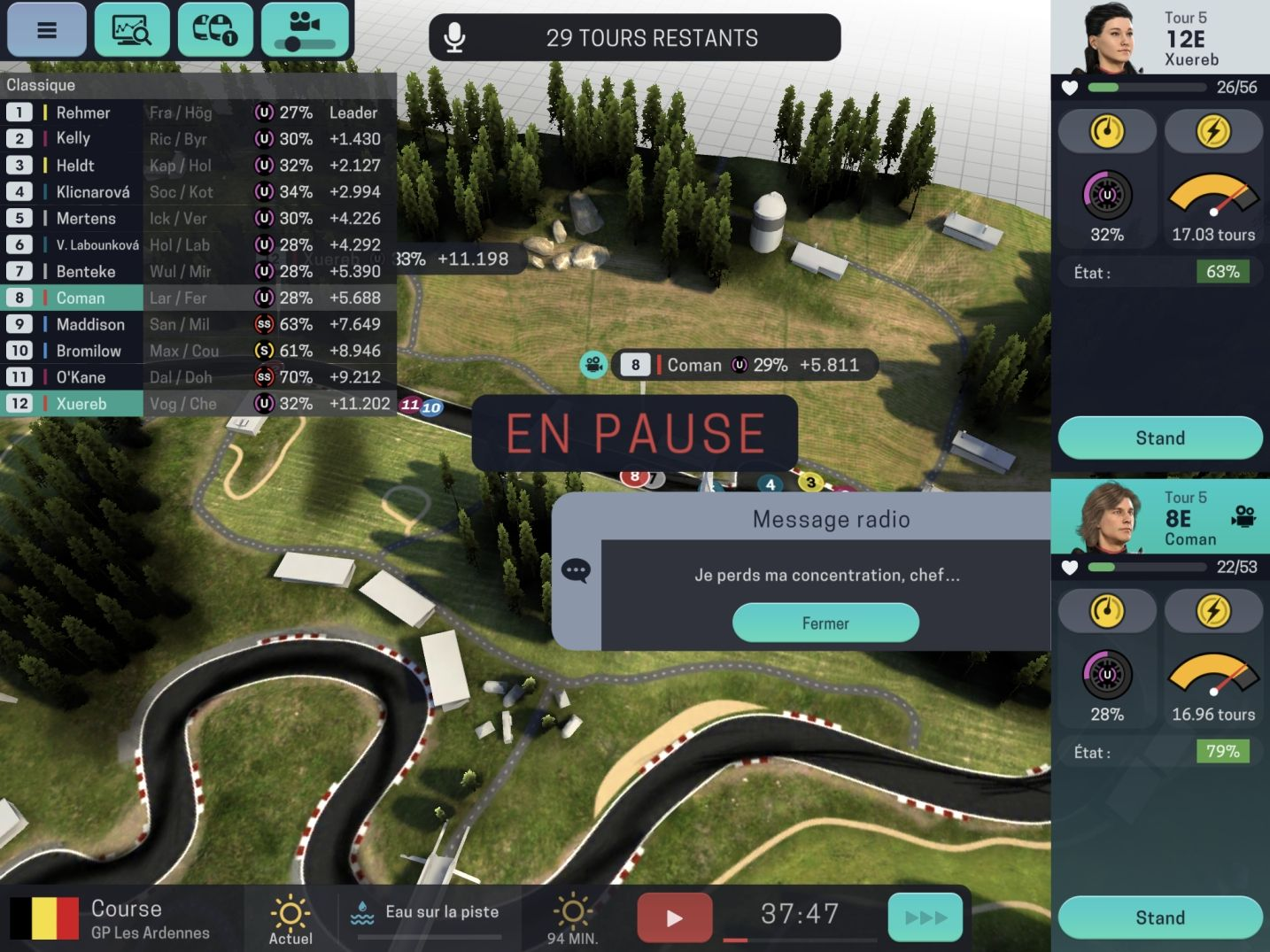 Motorsport Manager Mobile 3 (copie d'écran 28 sur Android)