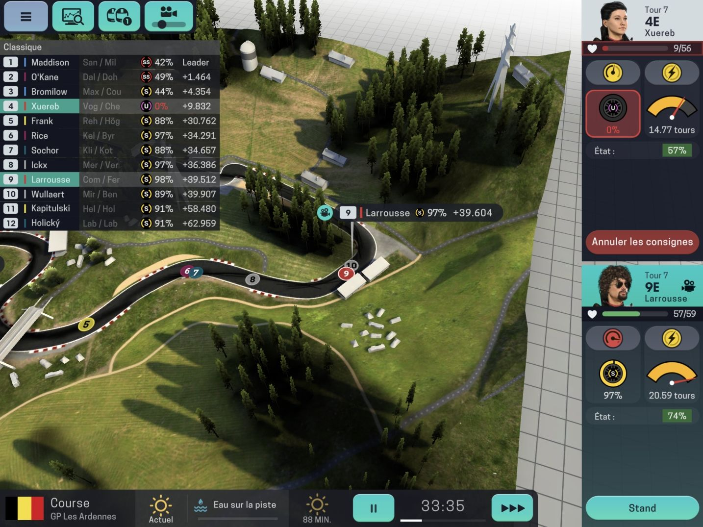 Motorsport Manager Mobile 3 (copie d'écran 30 sur Android)