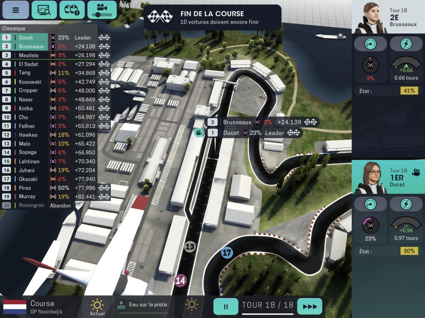 Motorsport Manager Mobile 3 (copie d'écran 37 sur Android)