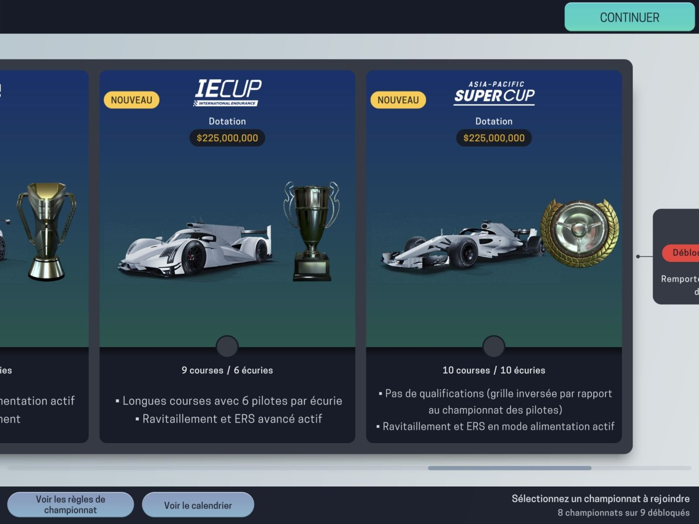 Motorsport Manager Mobile 3 (copie d'écran 46 sur Android)