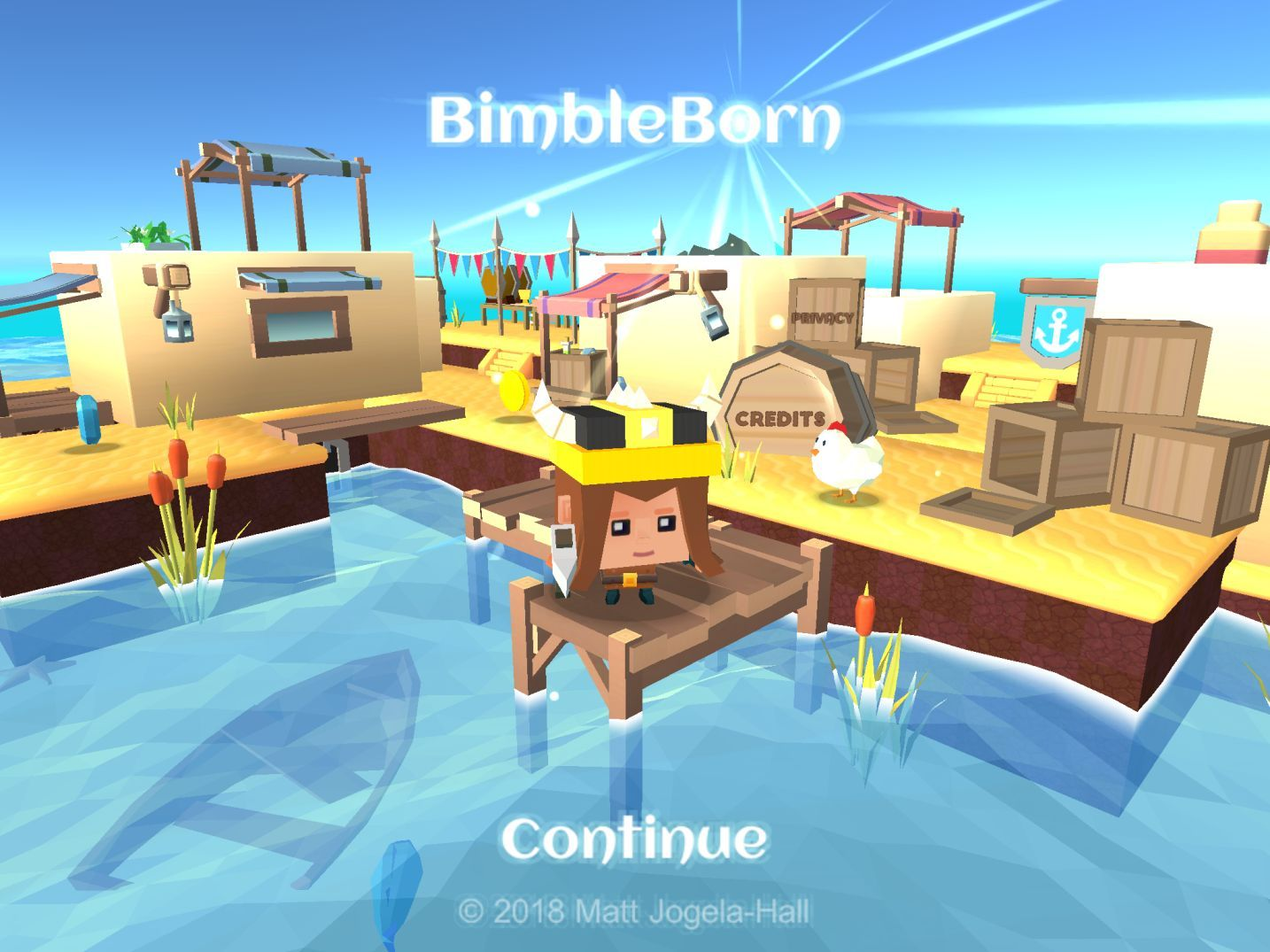 BimbleBorn (copie d'écran 1 sur iPhone / iPad)