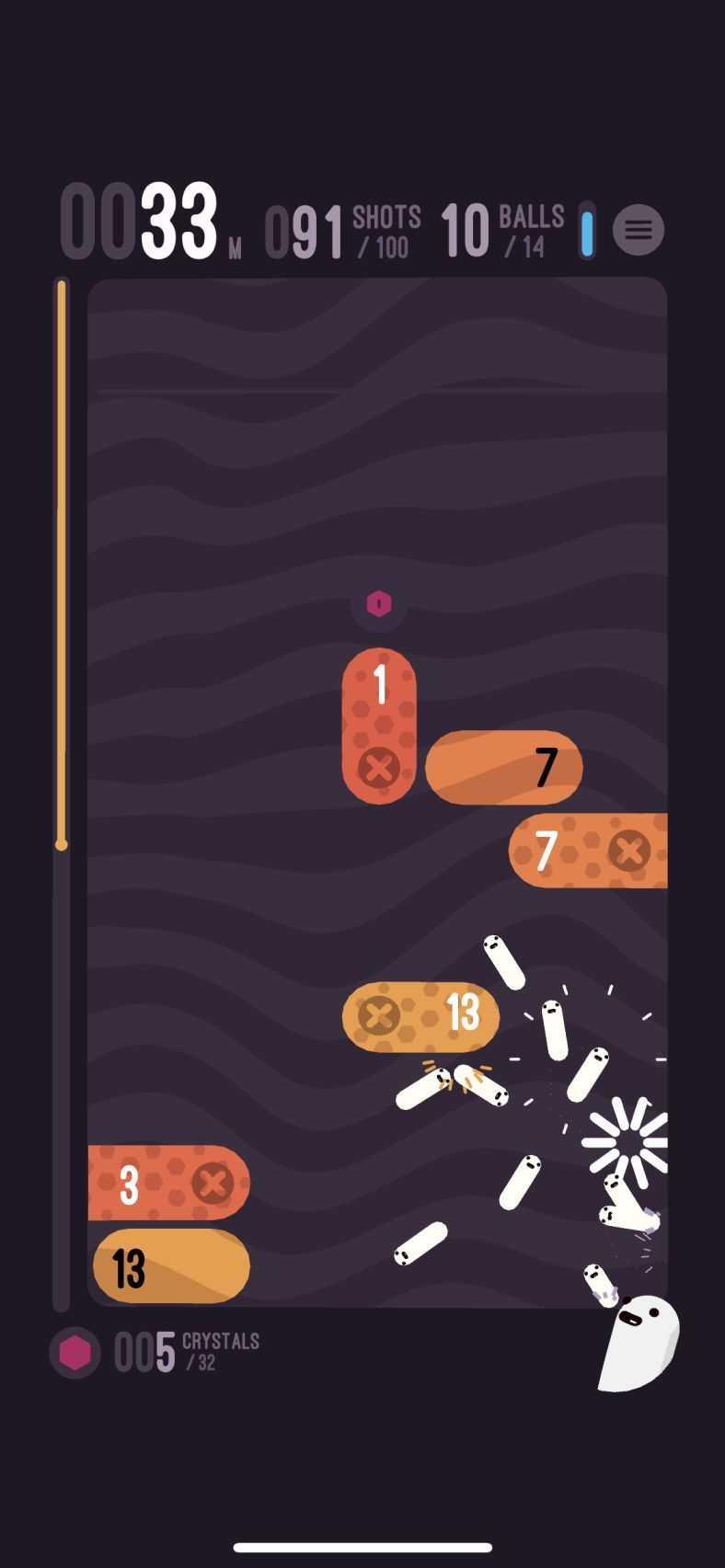 holedown (copie d'écran 2 sur iPhone / iPad)