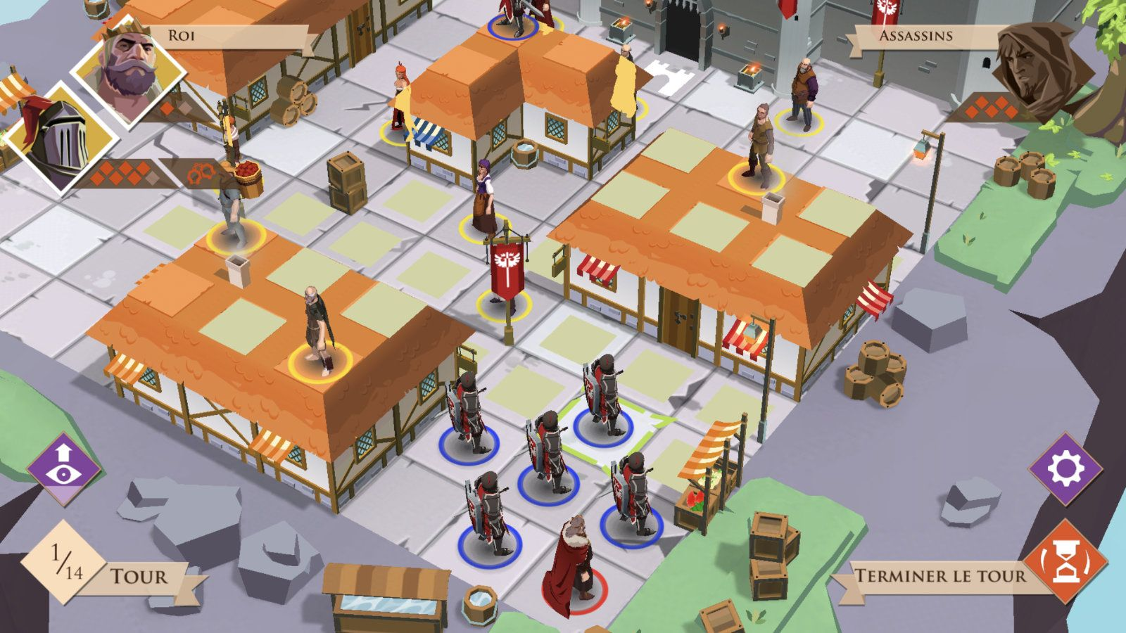 King and Assassins (copie d'écran 5 sur iPhone / iPad)