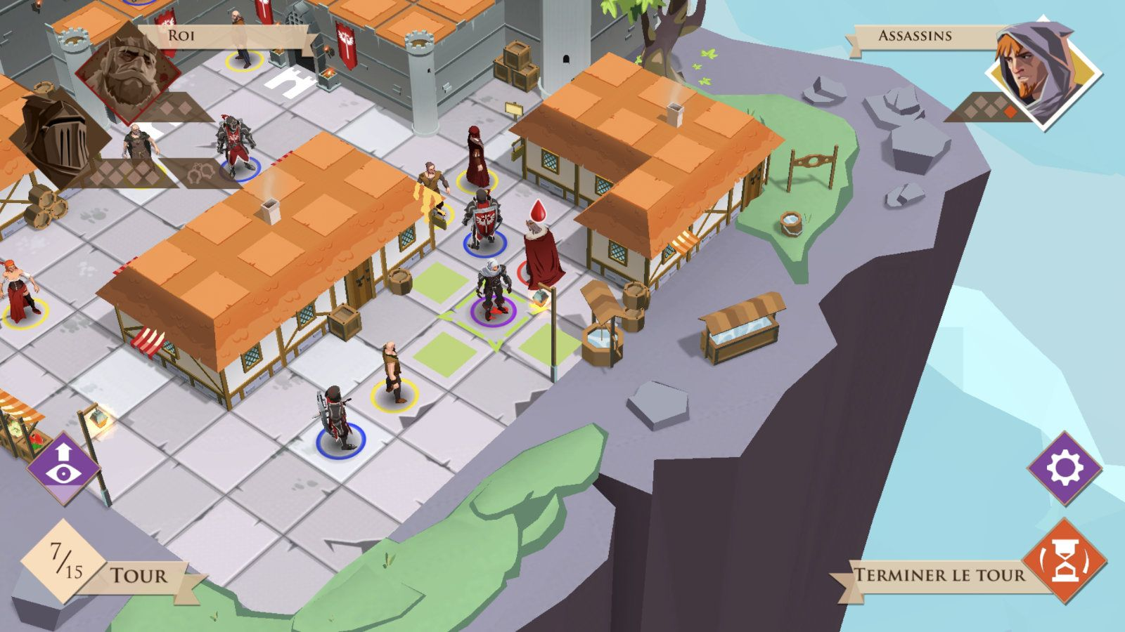 King and Assassins (copie d'écran 11 sur iPhone / iPad)