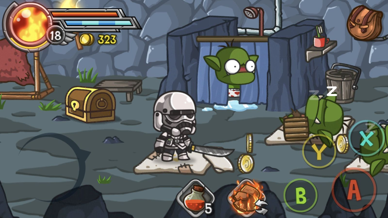 Wonder Blade (copie d'écran 11 sur iPhone / iPad)