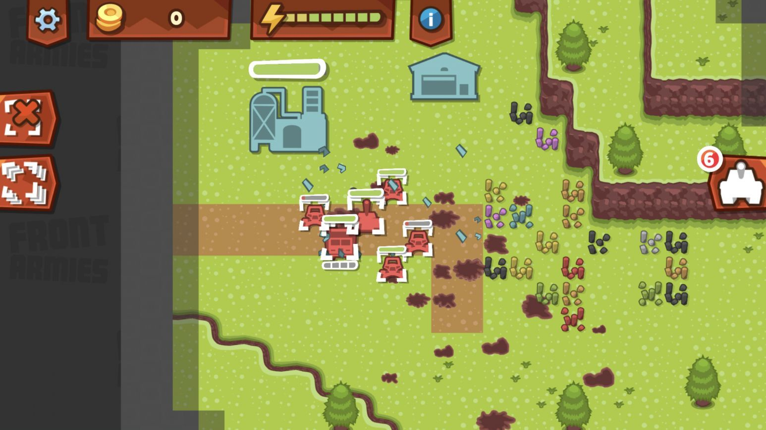 Front Armies [RTS] (copie d'écran 8 sur iPhone / iPad)