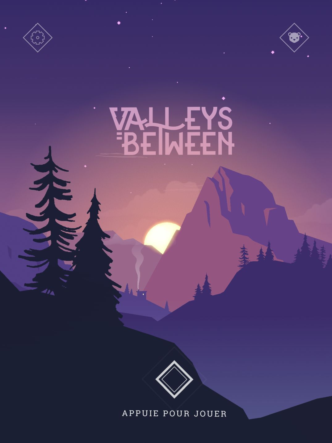 Valleys Between (copie d'écran 1 sur iPhone / iPad)