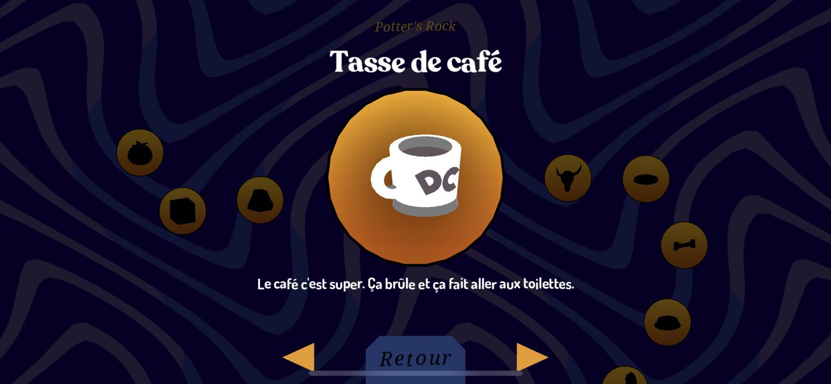Donut County (copie d'écran 19 sur iPhone / iPad)